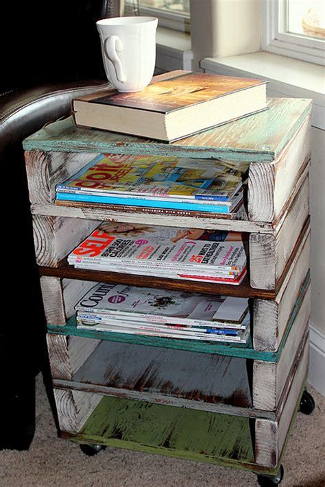 Zeitschriften Aufbewahrung by 11 Clever Diy Magazine Storage Ideas Diy Magazine Holder