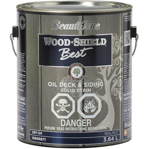 beauti tone wood shield   acrylic deck
