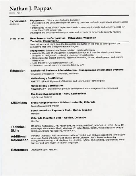 margins on a resume resume format margins botbuzz co