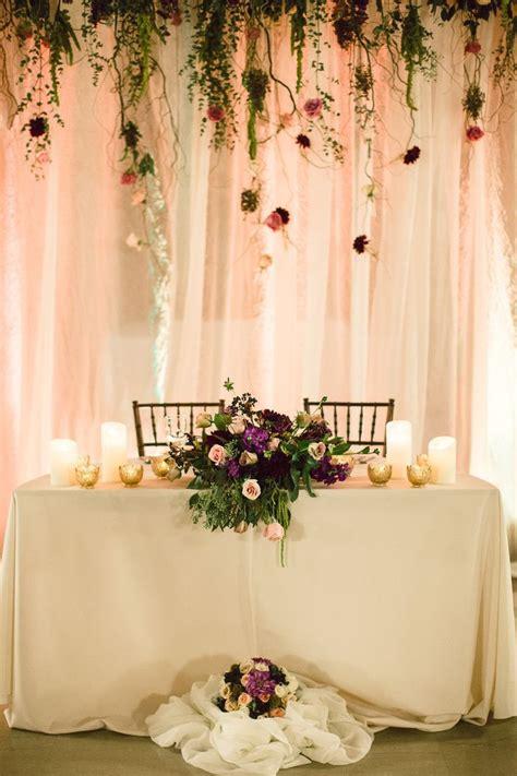 Wedding ideas and aesthetics Head table wedding Wedding