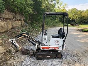 Bobcat 316 Mini Excavator Service Repair Manual Download