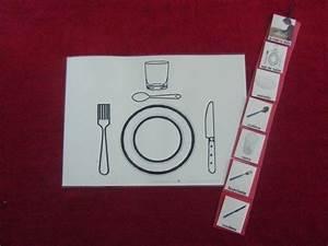 Set De Couvert : je mets le couvert avec 1 set de table 226121 autisme et apprentissages ~ Teatrodelosmanantiales.com Idées de Décoration