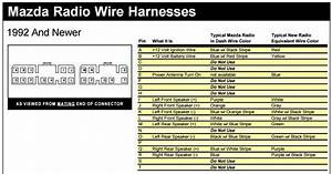 Mazda Radio Wiring Harnesses