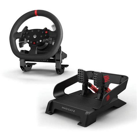 volante xbox one catz catz pro racing feedback para xbox one volante