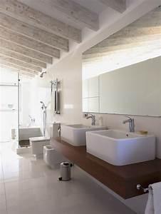 Salle De Bain Beige : salle de bain grise et beige maison design ~ Dailycaller-alerts.com Idées de Décoration