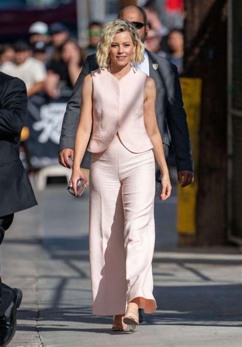 Photos Elizabeth Banks Arrives At Jimmy Kimmel Live In