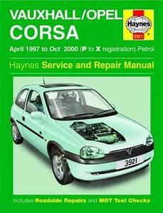 Holden Barina  Vauxhall Opel Corsa  1997-2000 Haynes Service Repair Manual