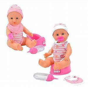Baby Bettausstattung Set : simba toys puppe new born baby mit funktionen zubeh r set 30 cm verschiedene designs ~ Frokenaadalensverden.com Haus und Dekorationen