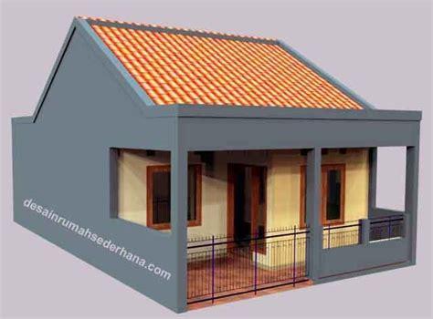 desain rumah sederhana  rab  feed news indonesia