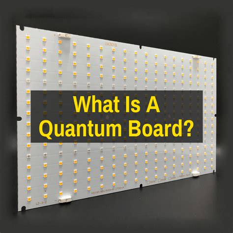The quantum world also has vortices: What Is A Quantum Board LED Grow Light? (Is The Hype Real?)