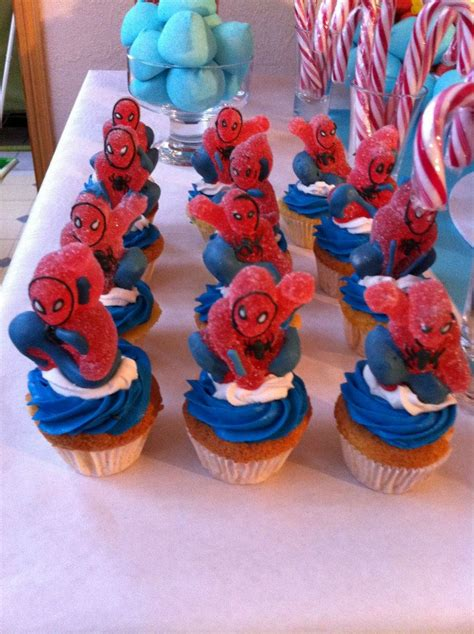 Baby Shower Candy Buffet Table by Th 232 Me Spiderman Archives Le Candy Bar