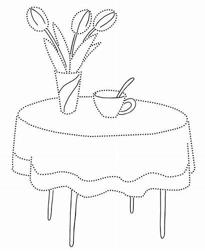 Coloring Furniture Pages Dining Canada Getdrawings Mebel