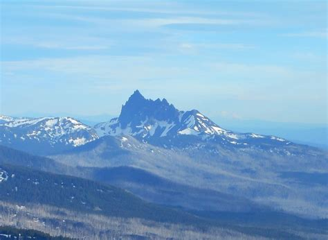 Three Fingered Jack Mountain Photo by bruce lacroix   7:05