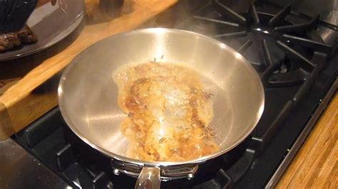 mauviel mcook poele inox stainless steel frying pan video hd youtube
