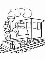Train Drawing Steam Coloring Colouring Colorear Kleurplaten Kleurplaat Vapor Locomotora Leukekleurplaten Pngitem Trein Trains Colour Crossing Dibujosparaimprimir Trenes Level Coloringpage sketch template