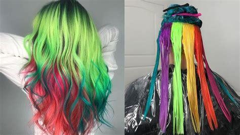 crazy hair dye   crazy colour rainbow