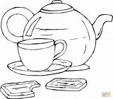 Coloring Tea Pages Cup Buccaneers Tampa Bay Teapot Printable Chocolate Cups Template Coloringpages101 Desserts Bucs Lightning Colouring Books Getcolorings Fruits sketch template