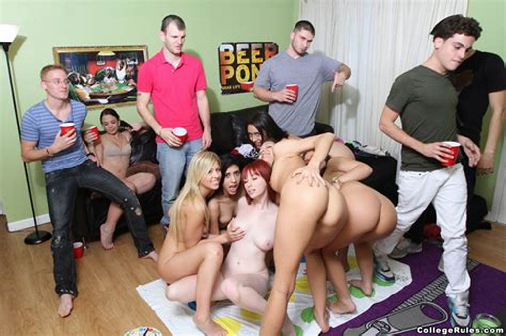 #Naked #College #Girls #Playing #Twister #And #Xxx #Dessert