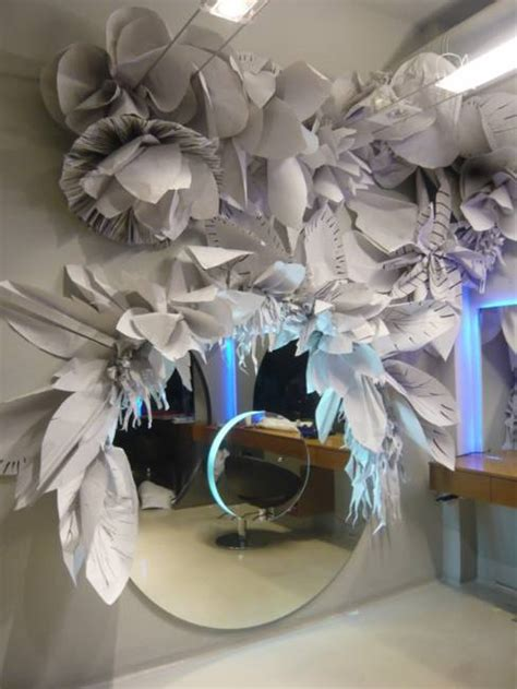 creative  modern ideas  interior decorating  recycling paper