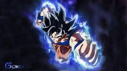 Goku Desktop Ultra Aura Instinct Wallpapers Ui