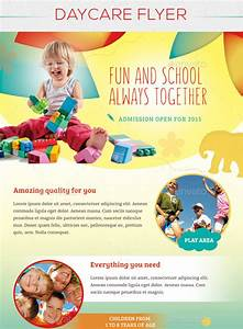 15 day care flyers psd With daycare flyers templates free