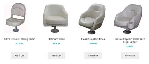 Pontoon Captain Seats by Pontoon Chair Pontoonchair