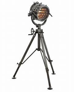 Lampe Industrial Style : industrial studioleuchte marine lampe stehleuchte im industrie design gunmetal finish luxus ~ Markanthonyermac.com Haus und Dekorationen