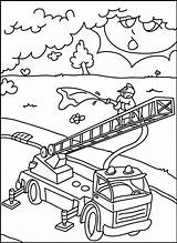 Firefighters Coloring Pages Print Fire sketch template