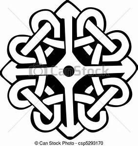 Symboles De Protection Celtique : clipart vecteur de symbole celtique an illustration a conception de csp5293170 ~ Dode.kayakingforconservation.com Idées de Décoration