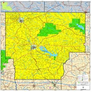Claiborne Parish Louisiana Map