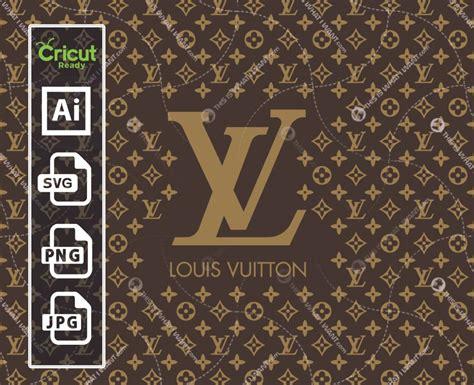 louis vuitton logo monogram inspired vector art design