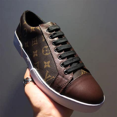louis vuitton match  sneaker arv  men brown  jqb
