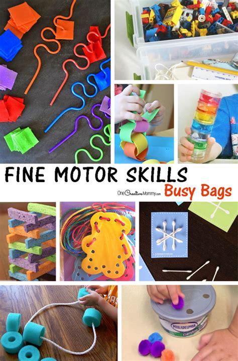 busy bags  preschool  toddlers