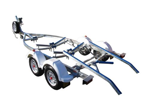 Ski Boat Trailer Skids by Tandem Axle Tilting Skid Boat Trailer With Brakes Boeing