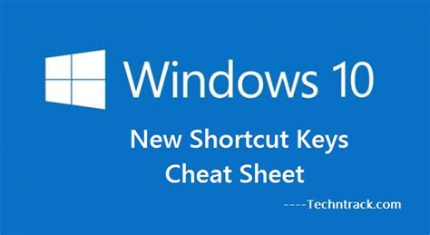 simple guide to use new shortcut keys for windows 10