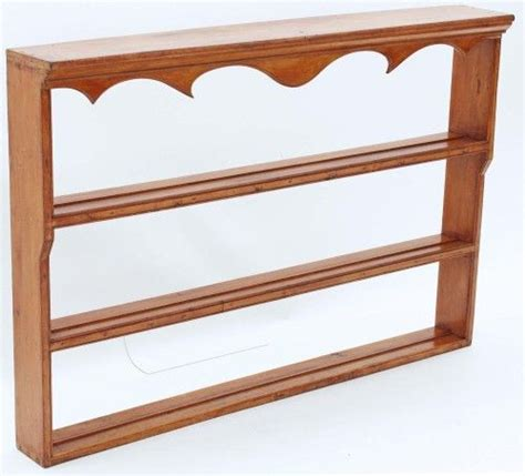 wooden wall mounted plate display rack woodworking projects plans
