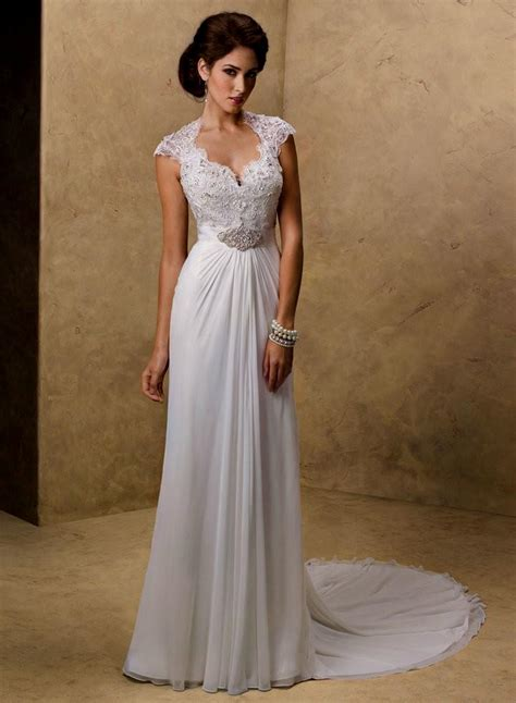 Vintage Lace Beach Wedding Dresses Naf Dresses