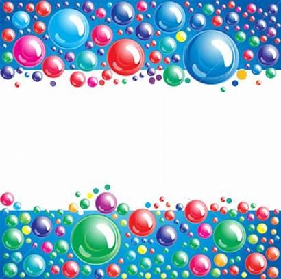 Bubbles Border Colorful Psd Psds Official