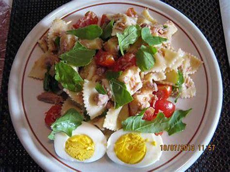 recette salade de pates froides italienne recette de salade de pates par cremina
