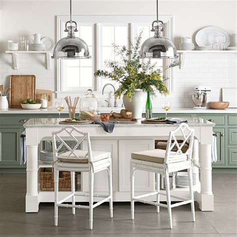 kitchen island marble top barrelson kitchen island with black granite top williams sonoma
