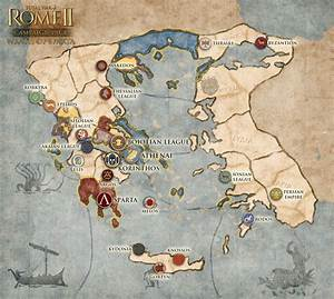Wrath of Sparta Campaign Map Revealed : totalwar