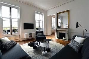 Dcoration D39intrieur Appartement Haussmannien 110m2