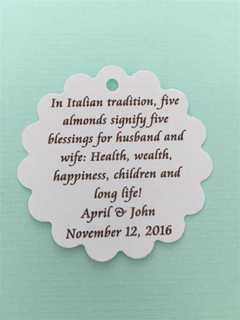 brianne  pc italian jordan almond poem tag