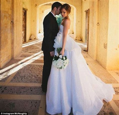erin mcnaught and singer hubby elliot gleave aka exle celebrate wedding anniversary daily