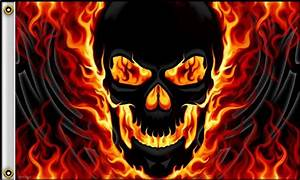 Cool Flaming Skulls | www.pixshark.com - Images Galleries ...