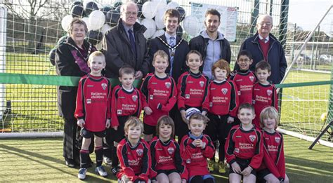Matt Tubbs Officially Opens New 3g Sports Pitch In Verwood