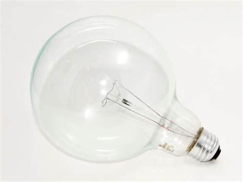 philips 100 watt 120 volt g40 clear globe bulb