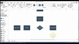 Create A Flowchart Using Visio