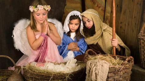 teaching skits  jesus birth  luke   ministry