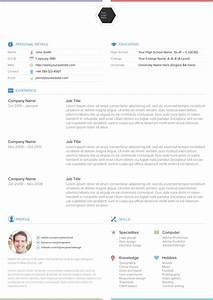 25 best free professional cv resume templates 2014 With best professional resume templates free